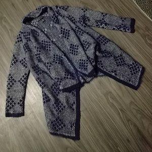 BCBGMaxAzria - fuzzy cardigan